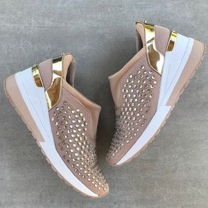 Michael Kors Malloy Trainer Crystal Sneakers
